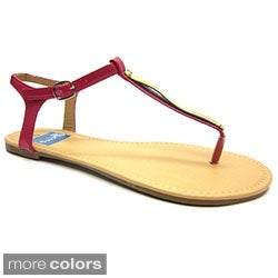 Blue Women's Apple Sandals