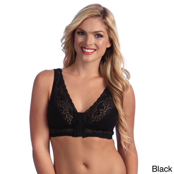 7847d3bba4d Shop Valmont Lacy Leisure Full Coverage Bra Front Close - Ships To ...