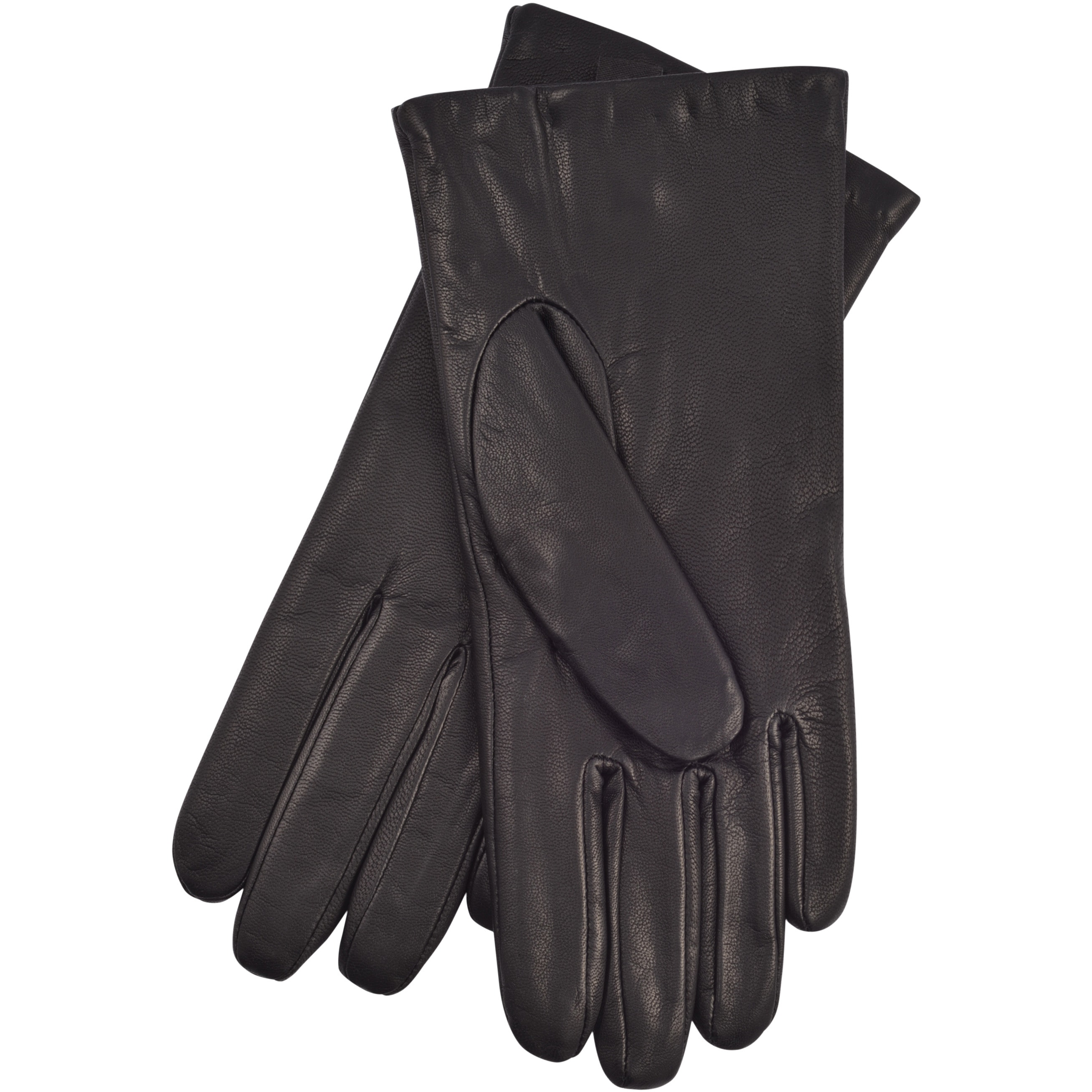 Isotoner 40170 Women/'s Leather SmarTouch Touchscreen Gloves Luggage 7.5