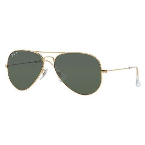 Ray-Ban RB3025 Arista Gold Large Aviator Sunglasses
