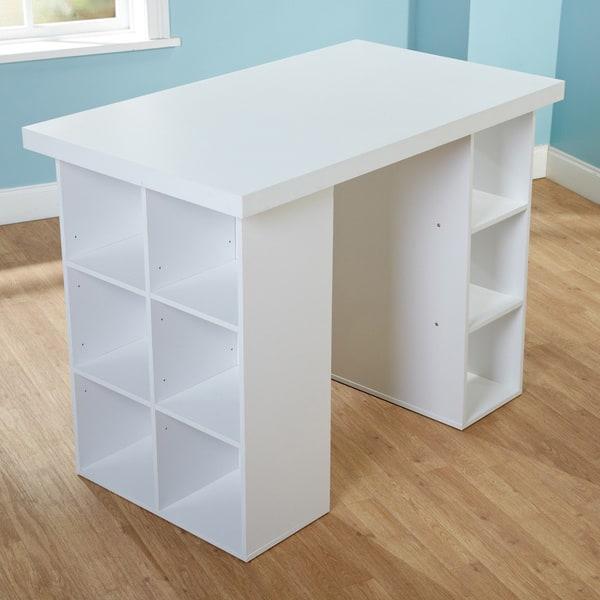 Rattan Sofa Garden Furniture, Shop Simple Living Counter Height Craft Desk Overstock 8199442