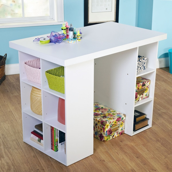 Shop Simple Living Counter Height Craft Desk Free