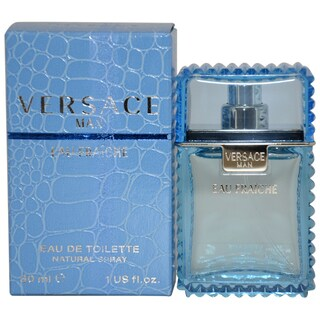 Versace Man Eau Fraiche Men's 1-ounce Eau de Toilette Spray