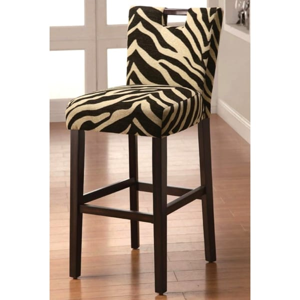 Shop Keter Casual Zebra Bar Stools Set Of 2 Free