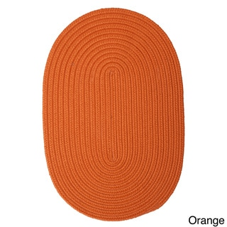 Anywhere' Oval Reversible Indoor/ Outdoor Rug (2' x 3')