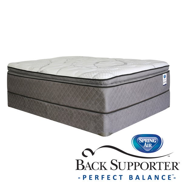 Shop Spring Air Back Supporter Parksdale Pillow Top Full