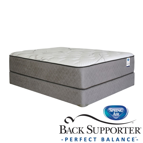 Spring Air Back Supporter Parksdale Plush Queen-size Mattress Set