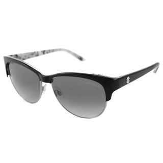 Roberto Cavalli Women's RC652S Melograno Silver/Black Cat-Eye Sunglasses
