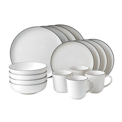Gordon Ramsay Bread Street 16-piece White Dinnerware Set