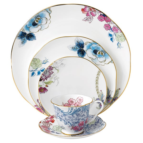 Shop Wedgwood Butterfly Bloom 5-piece Place Setting - Free Shipping ...