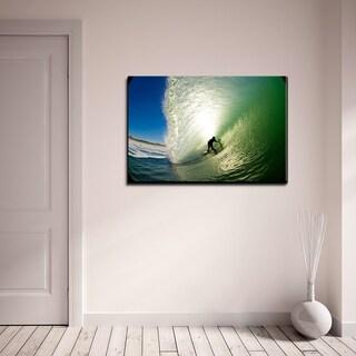 Nicola Lugo 'Surf Art' Acrylic Art