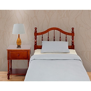 Mantua Traditional Style Cherry Finish Headboard