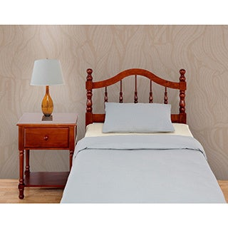 Rize Victoria Cherry Finish With Spindle Rails Headboard