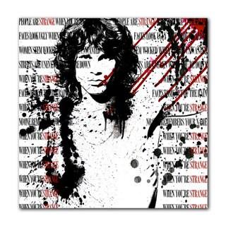 Ready2HangArt 'Jim Morrison' Acrylic Wall Art - White