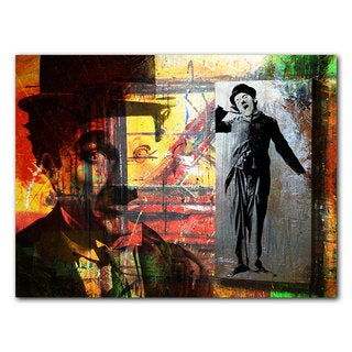 Ready2HangArt 'Charlie Chaplin' Acrylic Wall Art