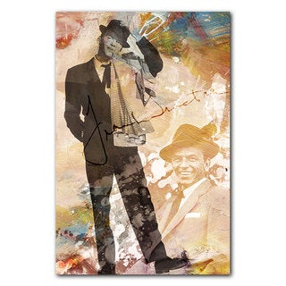 Ready2HangArt Iconic 'Frank Sinatra' Acrylic Wall Art - Multi-color