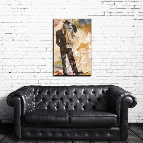 Ready2HangArt Iconic 'Frank Sinatra' Acrylic Wall Art - Multi-color