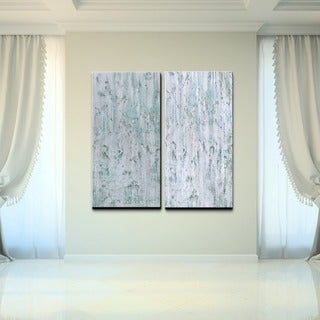 Ready2HangArt 'Abstract' Over-sized Canvas Wall Art (Set of 2)