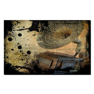 Ready2HangArt 'Abstract Graphaphone ' Gallery-wrapped Canvas Wall Art