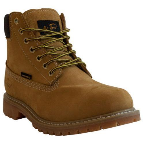 Men's AdTec 1017 6in Waterproof Work Boot Tan - Thumbnail 0
