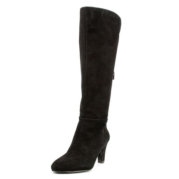 c4ba11329d5b Shop Women s Bandolino Wenda- Wide Calf Black Suede - Free Shipping ...