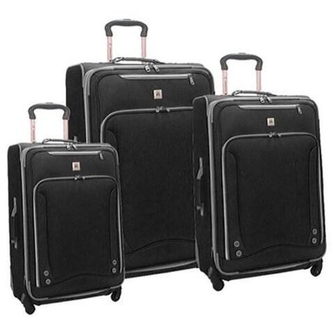 American Airline Skyhawk 3 Piece Luggage Set Black