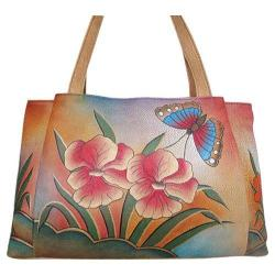 Women's ANNA by Anuschka 7008 Floral Abstract Butterfly