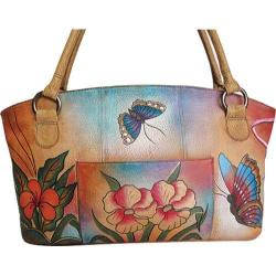 Women's ANNA by Anuschka 7015 Floral Abstract Butterfly