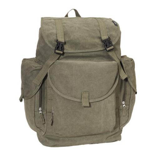 Everest Large Canvas Backpack Olive