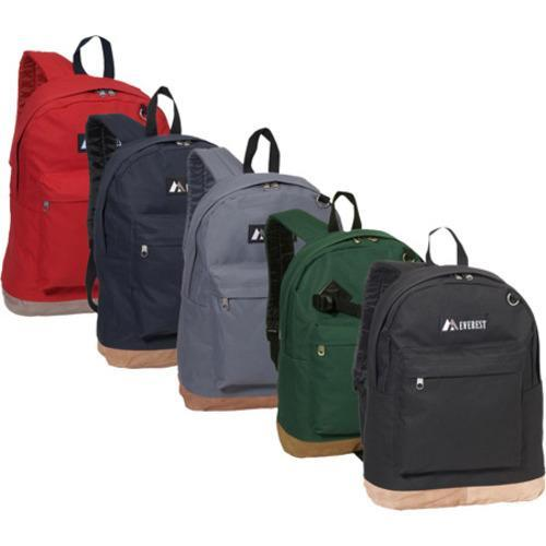 Everest Suede Bottom Backpack Black - Thumbnail 1