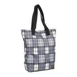 Women's J World Leslie Tote Bag Tartan Grey