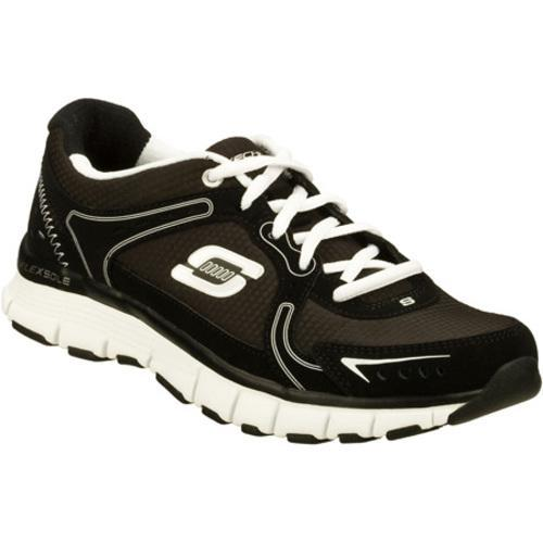 Women's Skechers Flex Fit Responsive Black/White