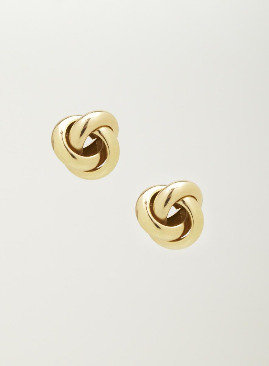 Lydell Knotted Stud Earrings