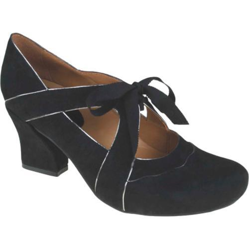 Women's Earthies Sarenza Too Black Kid Suede