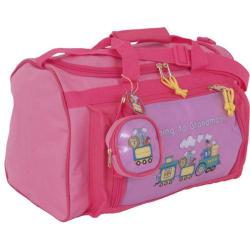 Children's Mercury Luggage Going to Grandma's Club Bag Pink