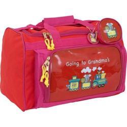 Children's Mercury Luggage Going to Grandma's Club Bag Red
