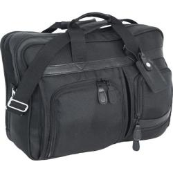 Mercury Luggage Signature Series Multi-Pocket Attache Black