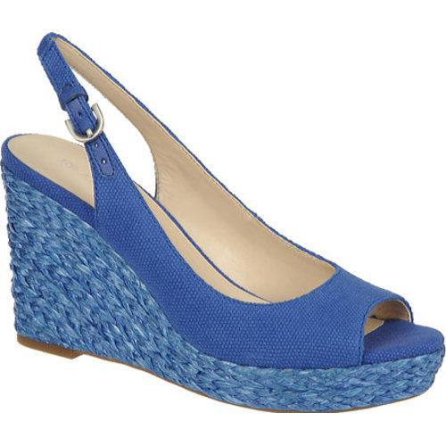 Women's Franco Sarto Rory Royal Sapphire Washed Canvas