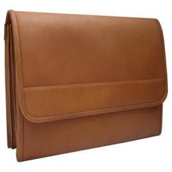 Piel Leather Envelope Portfolio 2363 Saddle Leather