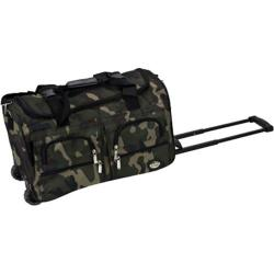Rockland 22in Rolling Duffle Bag Camouflage