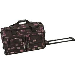 Rockland 22in Rolling Duffle Bag Chocolate