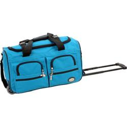 Rockland 22in Rolling Duffle Bag Turquoise