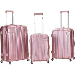 Rockland 3 Piece Sonic ABS Upright Set F190 Pink