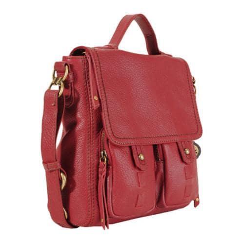 f1c20f4e275d Shop Women s THE SAK Fontana Leather Flap Scarlet - Free Shipping ...