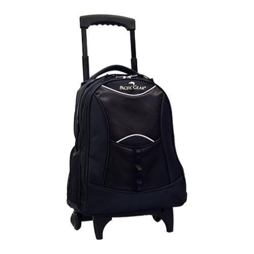 Traveler's Choice Rolling Backpack Black