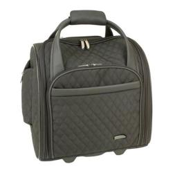 Travelon Wheeled Underseat Carry On w/BackUp Bag Black