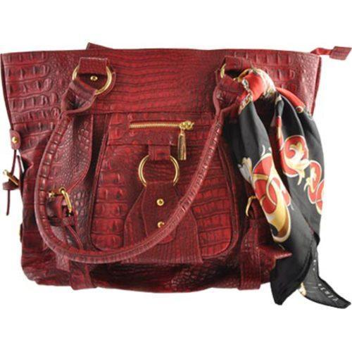 Shop Women s Vecceli Italy AS-162 Red Alligator Compressed Leather - Free  Shipping Today - Overstock - 8073337 00fe38e33