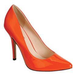 Women's Beston Music-03 Orange Patent Leather