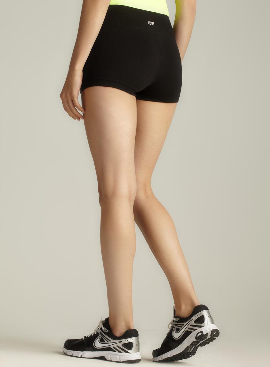 Marika Banded Flat Waist Shorts - Thumbnail 1
