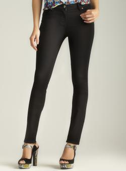 Two By Vince Camuto Five Pocket Black Skinny Jean